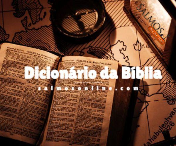 Dicionario da B�blia